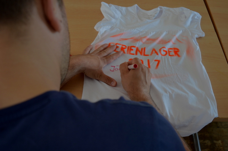 Leiter bemalt T-Shirt Packliste